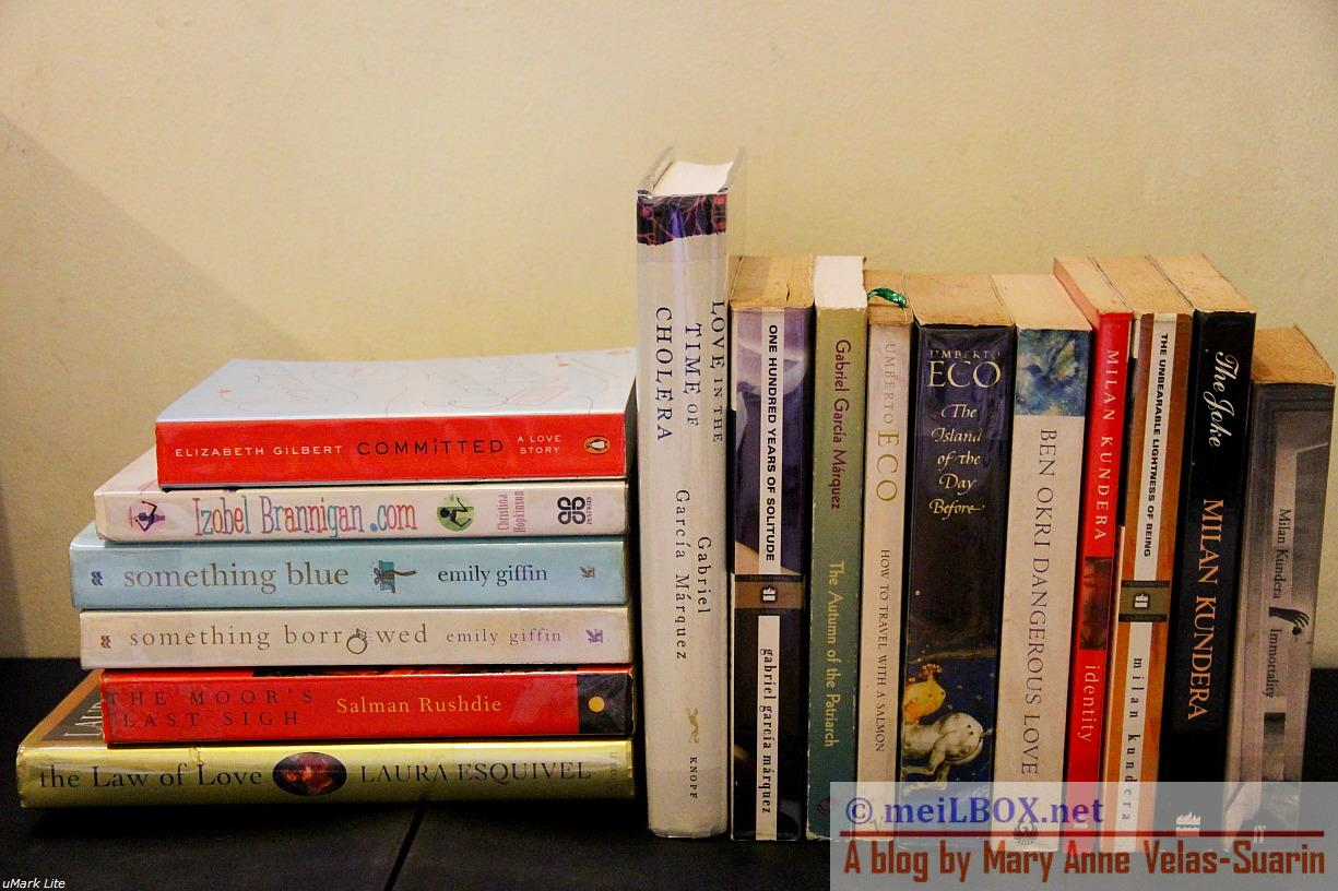 Books that stay with me. (Photo taken by Mary Anne Velas-Suarin)