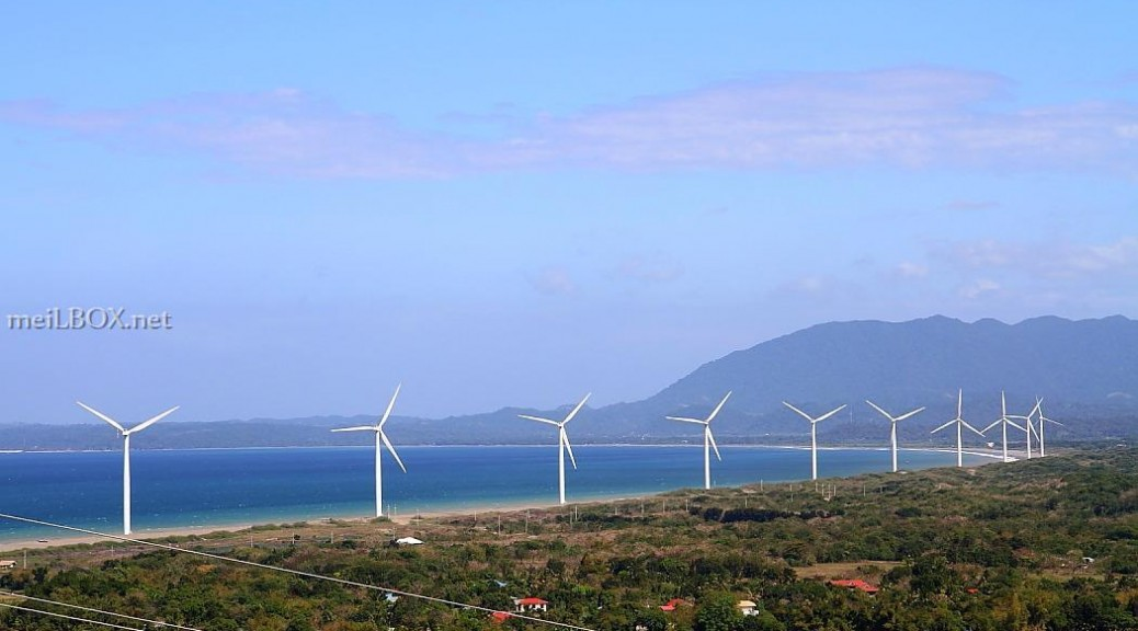 Bangui windmills, Ilocos Norte, Philippines [Photo credit: Mary Anne Velas-Suarin]