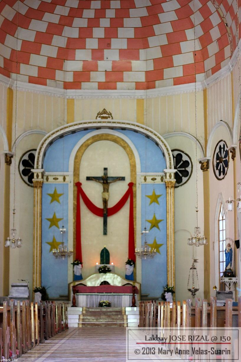 The interiors of St. James Parish Church (Dapitan Church). [Photo by Mary Anne Velas-Suarin]
