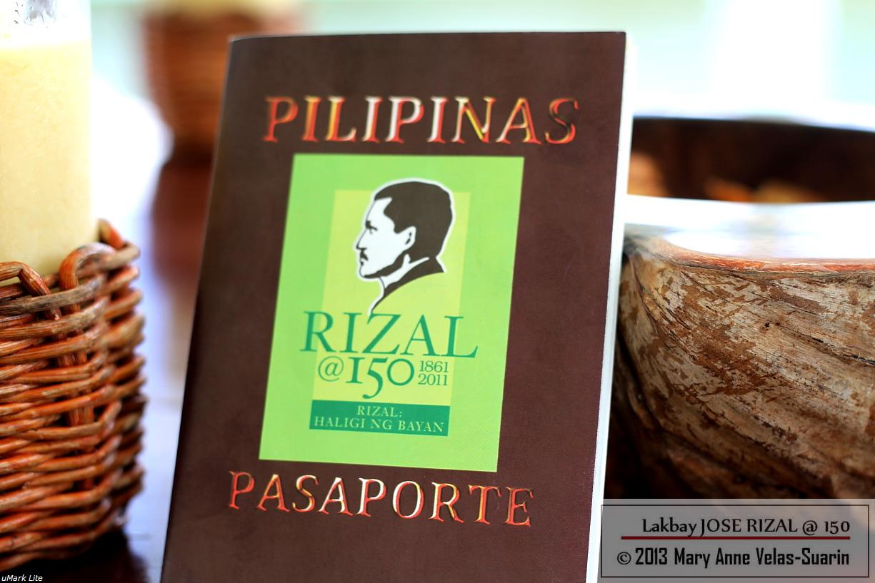 The Lakbay Jose Rizal @150 Passport.
