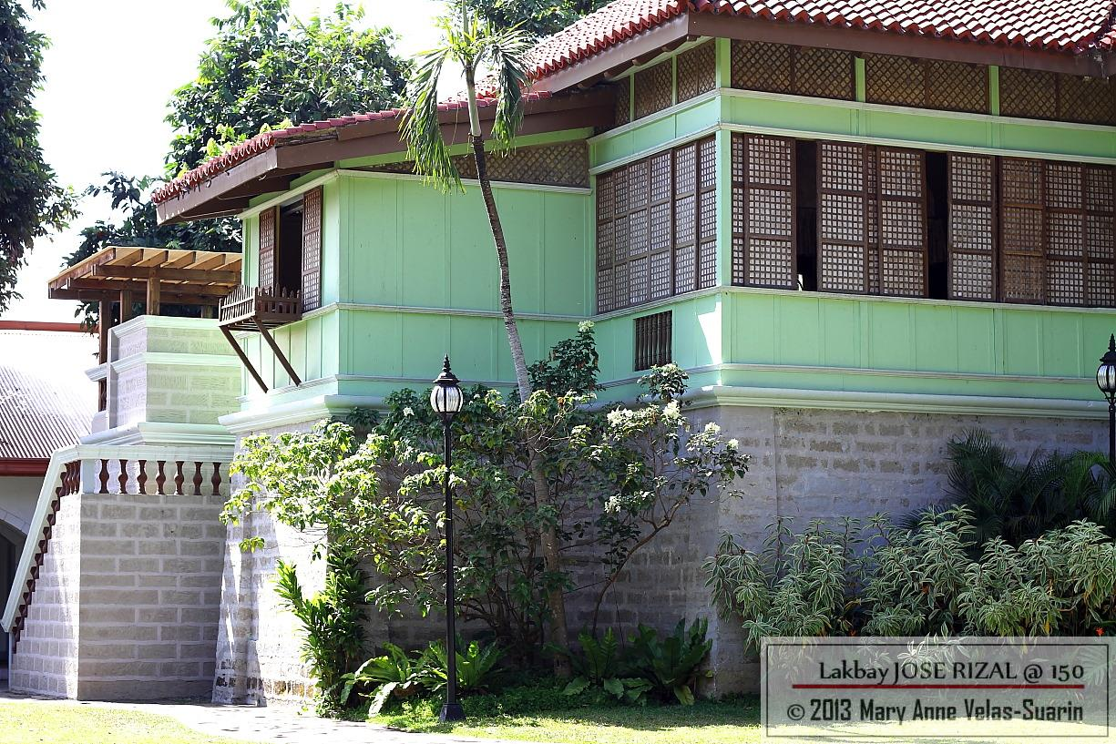 A reproduction of the Rizal house in Calamba. [Photo by Mary Anne Velas-Suarin]