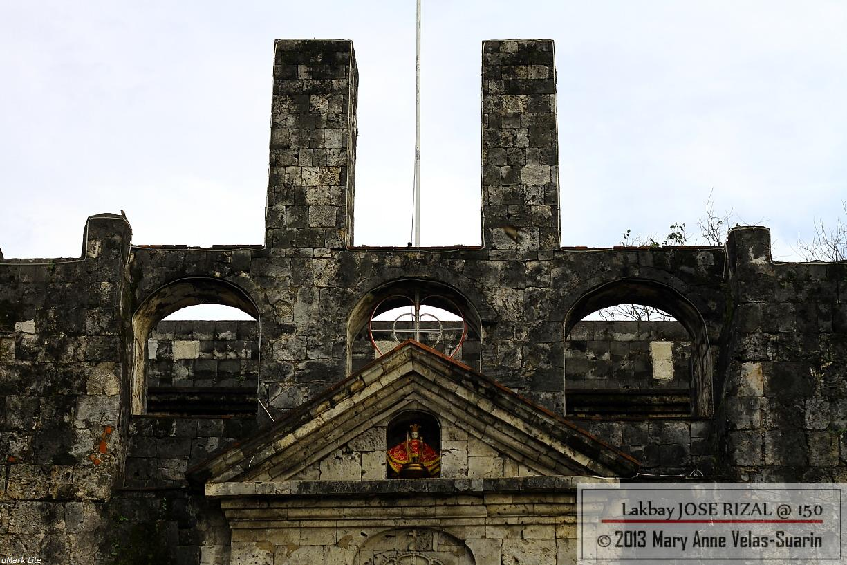 The top facade of Fort San Pedro in Cebu City. [Photo by Mary Anne Velas-Suarin]