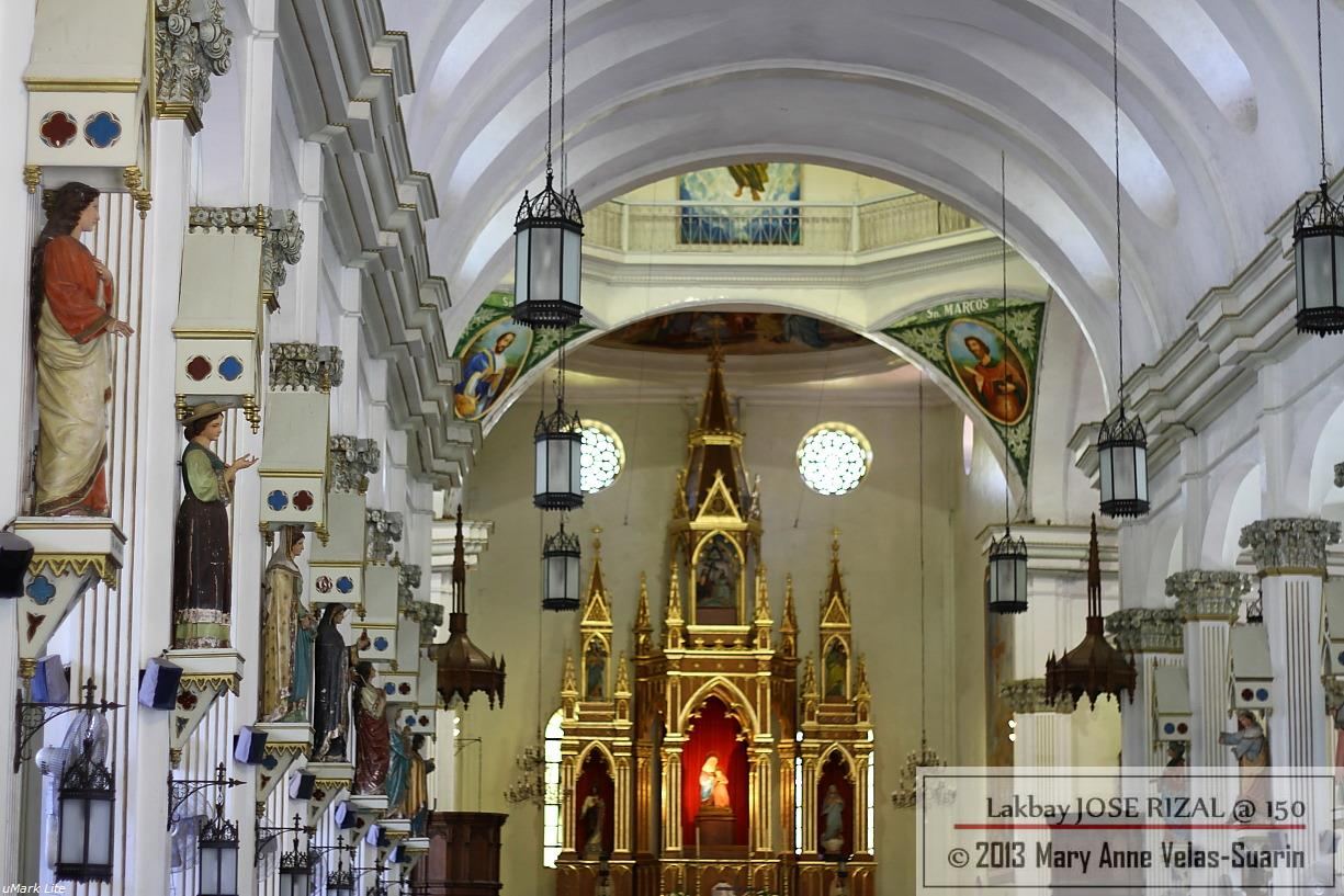 Inside the Molo Church, Iloilo City. [Photo by JR Suarin]