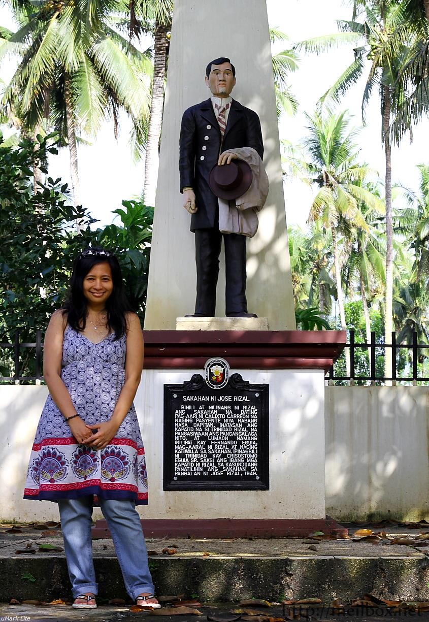 It was an honor just to simply walk on the farm that Jose Rizal tended. [Photo by JR Suarin.]