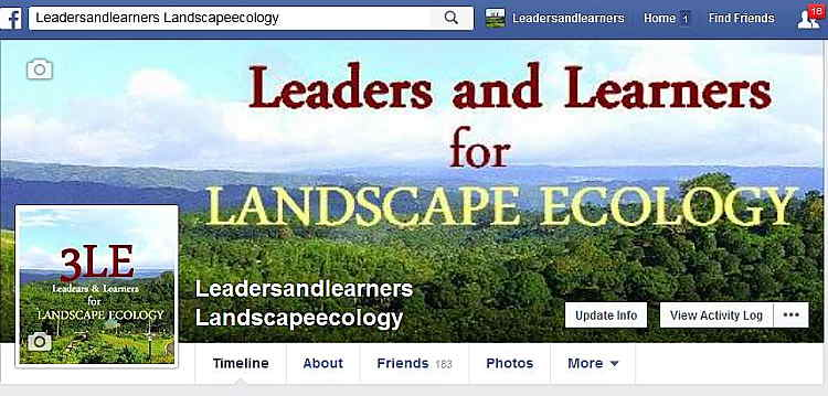 Connect and learn with us! [The image here is a screenshot of our FB Page.]