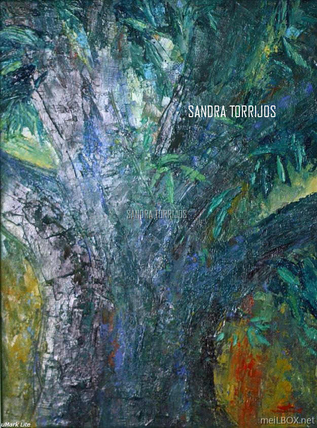 Mango Tree, an oil painting by Sandra Torrijos.