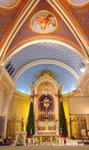 The Altar of the Immaculate Conception Cathedral [Image by M. Velas-Suarin]