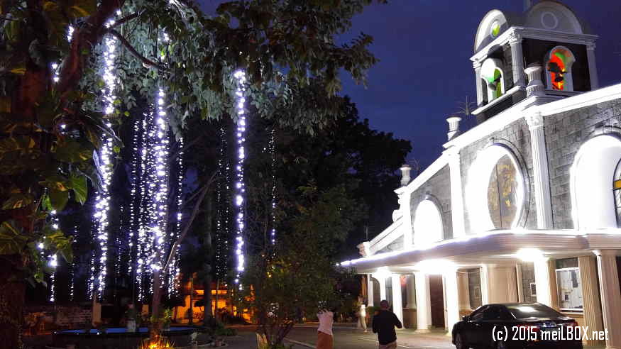 Santa Rita de Cascia Parish, at dawn [Image by M. Velas-Suarin]