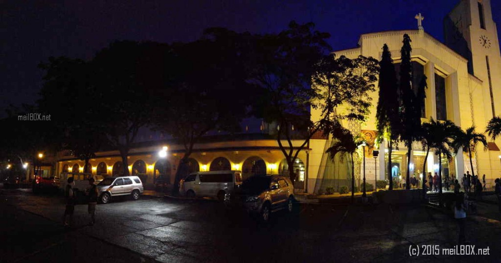 The Santo Domingo Church, at dawn. [Image by M. Velas-Suarin]