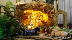 The Nativity Scene at the Santo Domingo Church [Image by M. Velas-Suarin]
