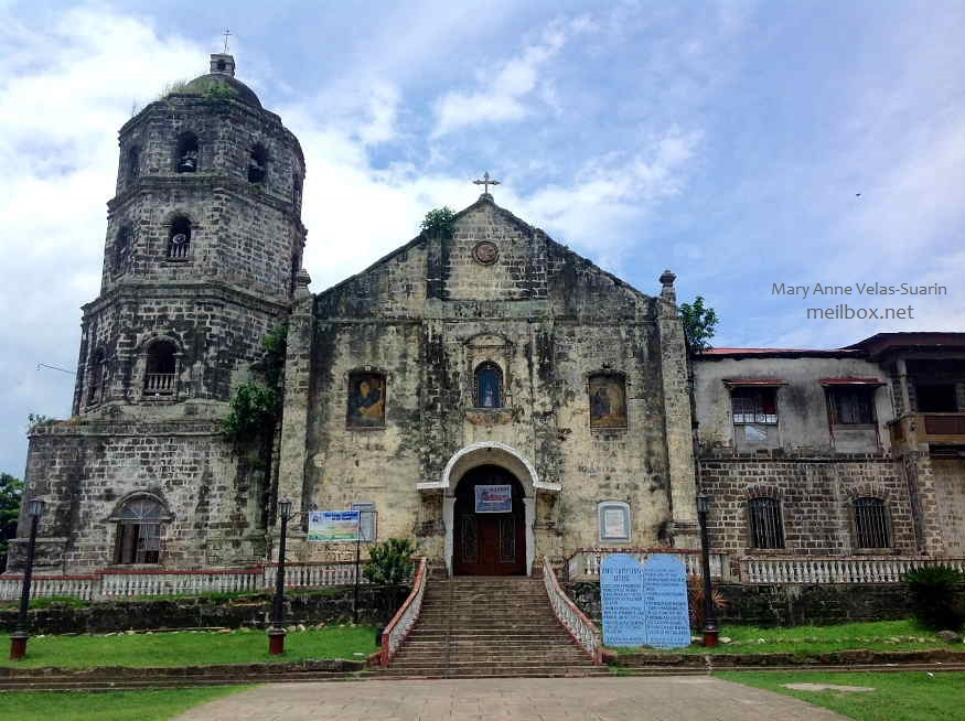 The Santa Maria Magdalena Parish Church in Magdalena, Laguna [Image by Mary Anne Velas-Suarin]