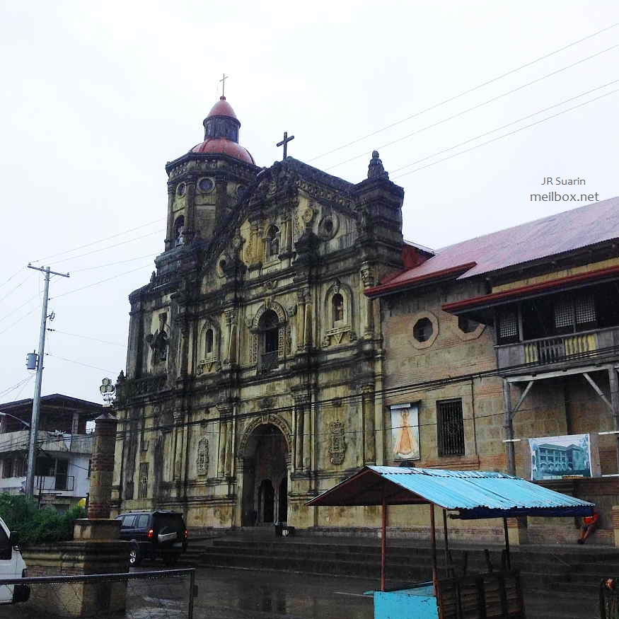 The St. Peter of Alcantara Parish Church (Shrine of Nuestra Señora de los Dolores de Turumba)[Image by JR Suarin]