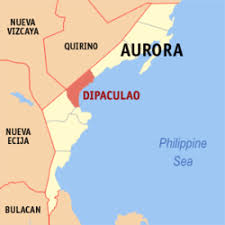Map showing Dipaculao in Aurora Province, Philippines. [Image courtesy of Wikepedia]