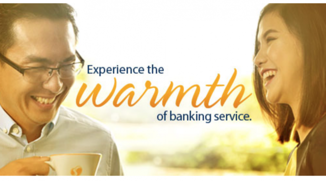 Experience the warmth of Banking Service [Image courtesy of Sterling Bank of Asia]
